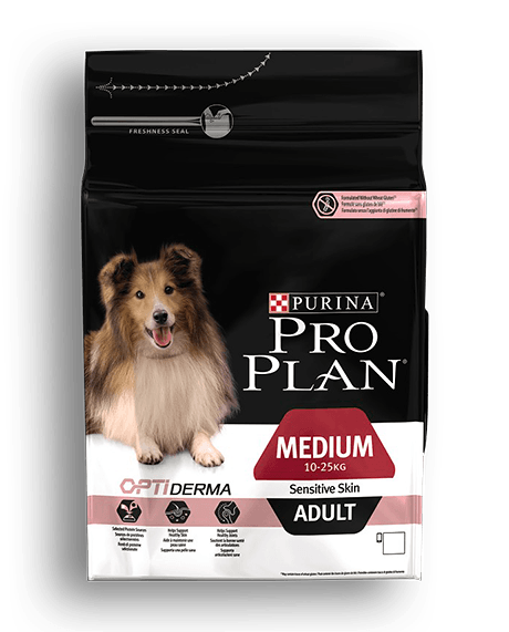 PRO PLAN® MEDIUM ADULT Sensitive Skin s OPTIDERMA 14kg