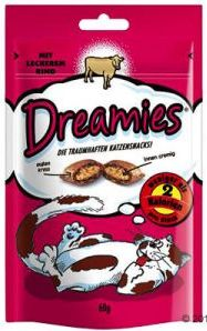 WHISKAS poch. DREAMIES hovězí 60g