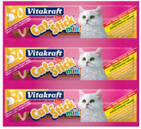 Vitakraft CAT stick MINI 3ks DRŮBEŽ + JÁTRA