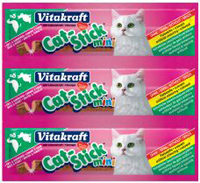 Vitakraft CAT stick MINI 3ks KACHNA + KRÁLÍK