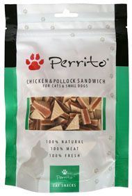 PERRITO cat/dog CHICKEN/FISH SANDWICH 100g