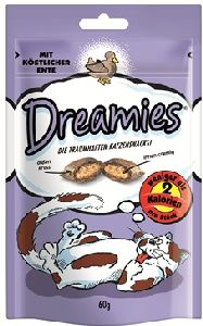 WHISKAS poch. DREAMIES kachní 60g