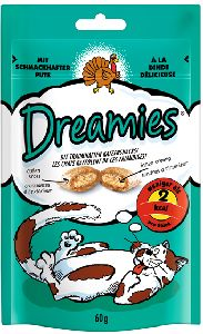 WHISKAS poch. DREAMIES krůtí 60g