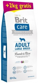 BRIT CARE ADULT LARGE BREED Lamb&Rice 12+2kg